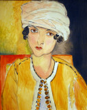 Lorette with Turban and Yellow Jacket, Henri Matisse, 1917