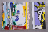 Painting with Statue of Liberty, Roy Lichtenstein, 1983