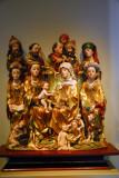 The Holy Kinship, 15th C. Germany (Franken/Schwaben)