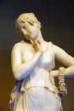 Dancer with Finger on Chin, Antonio Canova, ca 1819