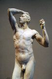 Plaster cast of Rodin's Age of Bronze, 1898