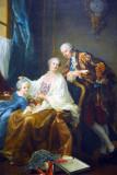 Group Portrait, François-Hubert Drouais, 1756