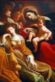 The Dream of St. Catherine of Alexandria, Lodovico Carracci, ca 1590