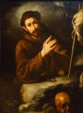 Saint Francis in Prayer, Bernardo Strozzi, ca 1620