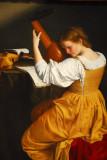 The Lute Player, Orazio Gentileschi