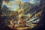 The Baptism of Christ, Alessandro Magnasco, ca 1740