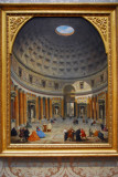 Interior of the Pantheon, Rome, Giovanni Paolo Panini, ca 1734