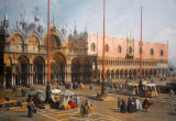 The Square of St. Mark's, Venice, by Canaletto, ca 1742