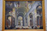 Interior of Saint Peter's, Rome, Giovanni Paolo Panini, ca 1754