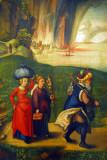 Lot and His Daughters, Albrecht Dürer, ca 1496