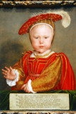 Edward VI as a child, Hans Holbein the Younger, ca 1538