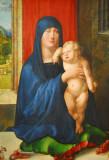 Madonna and Child, Albrecht Dürer, ca 1496