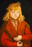 A Prince of Saxony, Lucas Cranach the Elder, ca 1517