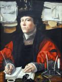 Portrait of a Merchant, Jan Gossaert, ca 1530