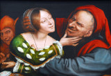 Ill-Matched Lovers, Quentin Massys, ca 1520