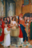 The Baptism of Clovis by the Master of St. Giles, ca 1500