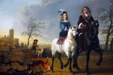 Lady and Gentleman on Horseback, Aelbert Cuyp, ca 1660