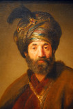 Man in Oriental Costume, Rembrandt van Rijn and workshop, ca 1635