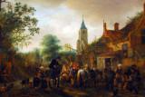 The Halt at the Inn, Isack Van Ostade, ca 1645