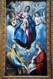 Madonna and Child with St. Martina and St. Agnes, El Greco, ca 1597
