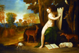 Circe and Her Lovers in a Landscape, Dosso Dossi, ca 1525