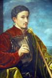 Portrait of a Knight, Giovanni Girolamo Savoldo, ca 1525
