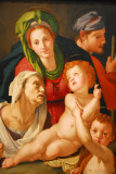 The Holy Family, Agnolo Bronzino, ca 1525