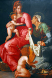 Madonna and Child with St. Elizabeth and St. John the Baptist, ca 1535