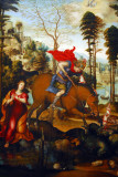 St. George and the Dragon by Sodoma, ca 1518