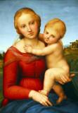 The Small Cowper Madonna, Raphael, ca 1505