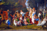 The Feast of the Gods, Giovanni Bellini and Titian, ca 1514