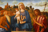 Madonna and Child with St. Jerome and St. John the Baptist, ca 1492