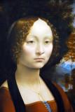 Ginevra de' Benci, Leonardo Da Vinci, ca 1474
