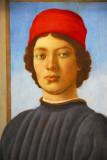 Portrait of a Youth, Filippino Lippi, ca 1485