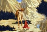 St. John in the Desert, Domenico Veneziano, ca 1445