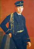 Achille de Gas in the Uniform of a Cadet, Edgar Degas, ca 1856