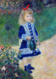 A Girl with a Watering Can, Auguste Renoir, 1876