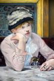 Plum Brandy, Edouard Manet, ca 1877