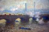 Waterloo Bridge, Gray Day, Claude Monet, 1903