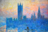 The Houses of Parliament, Sunset, Claude Monet, 1903