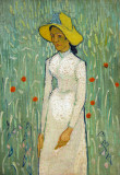 Girl in White, Vincent Van Gogh, 1890