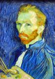 Self-Portrait, Vincent Van Gogh, 1889