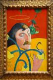 Self-Portriat, Paul Gauguin, 1889