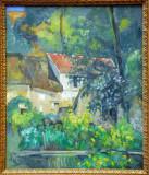 House of Père Lacroix, Paul Cézanne, 1873