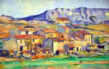 Hamlet at Payannet, near Gardanne, Paul Cézanne, ca 1885