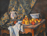 Still Life with Apples and Peaches, Paul Cézanne, ca 1905