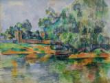 Riverbank, Paul Cézanne, ca 1895