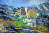 Houses in Provence: The Riaux Valley near L'Estaque, Paul Cézanne, ca 1883