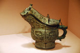 Ritual wine container, Shang dynasty, 12th C. BC