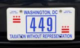 Washington D.C. License Plate